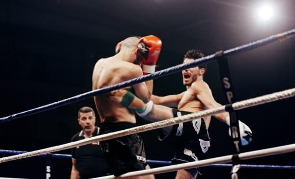 Ring de boxe sport de combat sportcom